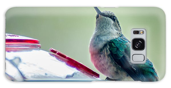 Hummingbird Galaxy Case by Todd Soderstrom
