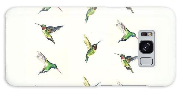 Hummingbird Galaxy S8 Case - Hummingbirds Number 2 by Michael Vigliotti