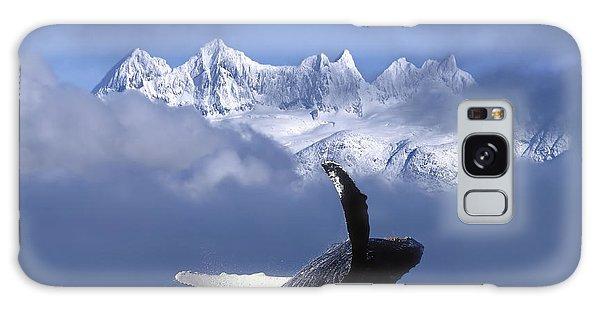 Alaska Galaxy Case - Humpback Whale Breaches In Clearing Fog by John Hyde