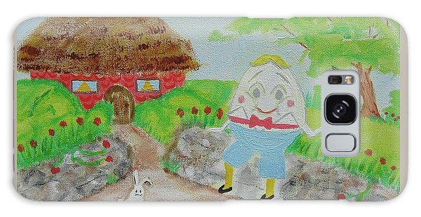 Humpty's House Galaxy Case by Diane Pape
