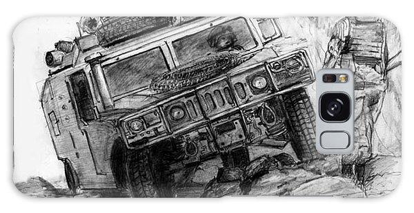 Humvee-afghanistan Galaxy Case by Jim Hubbard