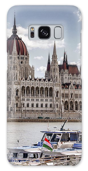 Hungarian Parliament Across The Danube Galaxy Case