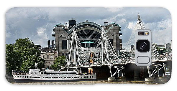 Hungerford Bridge And Charing Cross Galaxy Case