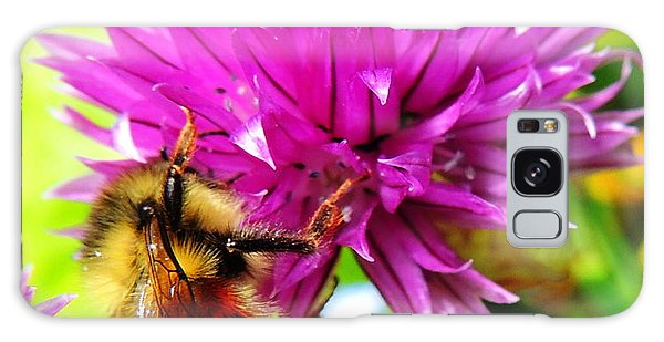 Hungry Bee Galaxy Case by Karen Horn