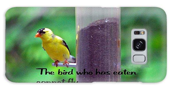 Hungry Bird Galaxy Case