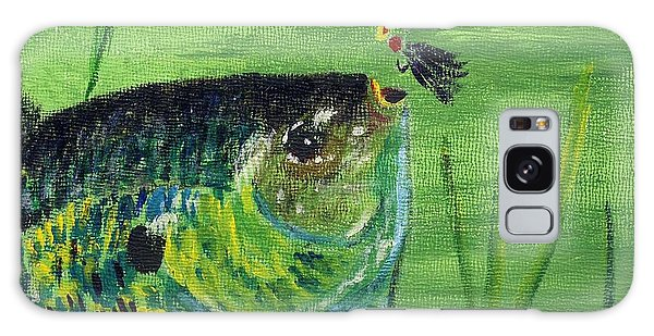 Hungry Bluegill Galaxy Case