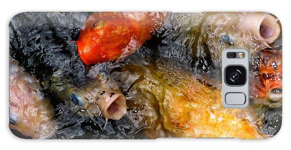 Hungry Koi Fish Galaxy Case by John Swartz