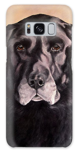 Hunting Buddy Black Lab Galaxy Case