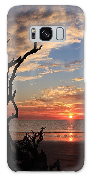 Hunting Island Sunrise Galaxy Case