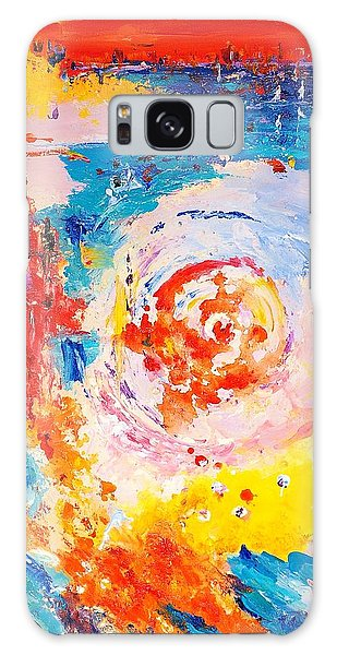 Hurricane 1 Galaxy Case by Helen Kagan