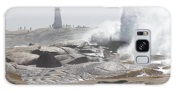 Hurricane Irene At Peggy's Cove Nova Scotia Canada Galaxy Case