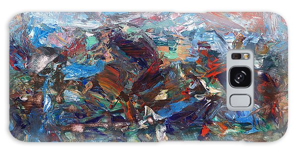 Abstract Expressionism Galaxy Case - Hurricane by James W Johnson