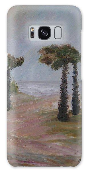 Hurricane Palms Galaxy Case