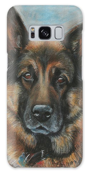 Hussler-german Shepherd Dog Galaxy Case by Sciandra