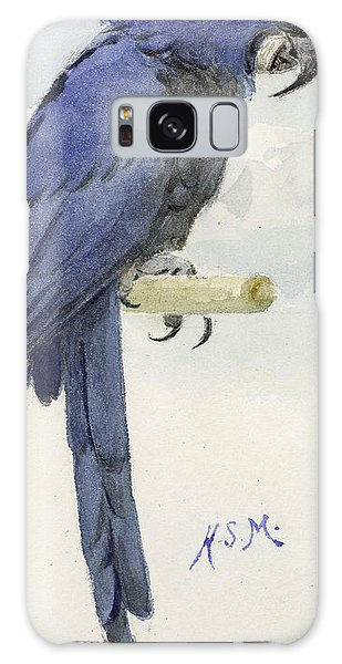 Macaw Galaxy Case - Hyacinth Macaw by Henry Stacey Marks