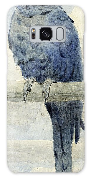 Macaw Galaxy Case - Hyacinthine Macaw by Henry Stacey Marks