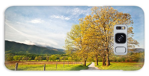 Hyatt Lane Cade's Cove Great Smoky Mountains National Park Galaxy Case