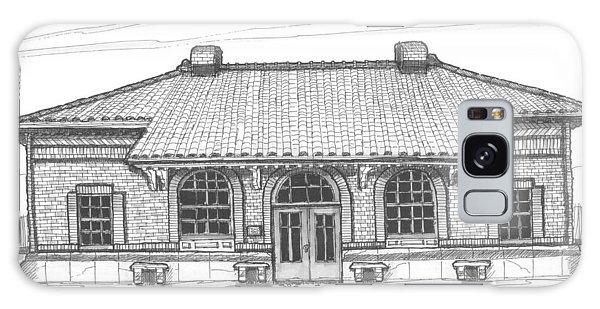 Hyde Park Historic Train Station Galaxy Case