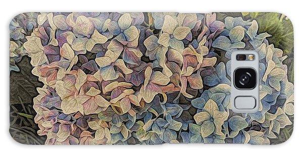 Hydrangea Blossoms Galaxy Case