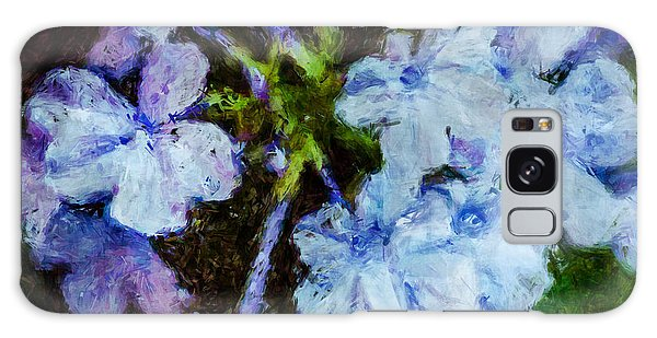 Hydrangea Galaxy Case by Celso Bressan