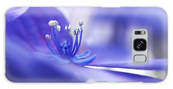 Hydrangea Closeup Galaxy Case by Sharon Talson