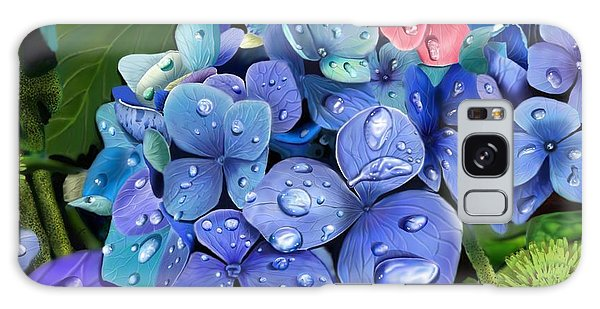 Hydrangea Drift  Galaxy Case