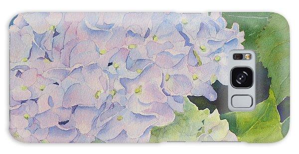 Hydrangea Galaxy Case by Judy Mercer