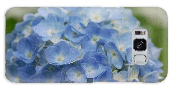 Hydrangea Solitude Galaxy Case