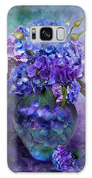 Hydrangeas In Hydrangea Vase Galaxy Case