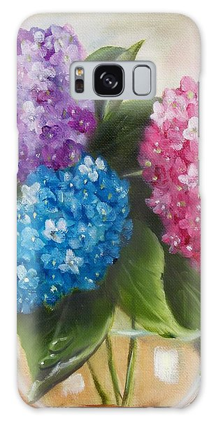 Hydrangeas Galaxy Case