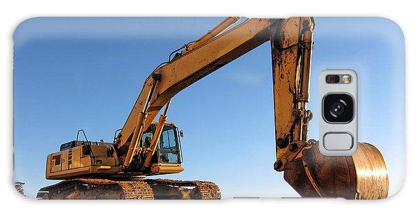 Excavator Galaxy Case - Hydraulic Excavator by Olivier Le Queinec