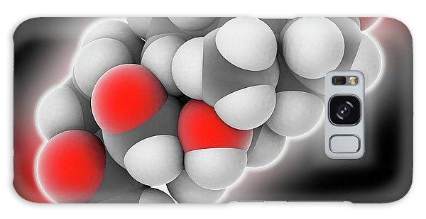 Molecular Biology Galaxy Case - Hydrocortisone Hormone Molecule by Laguna Design
