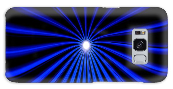 Hyperspace Blue Landscape Galaxy Case