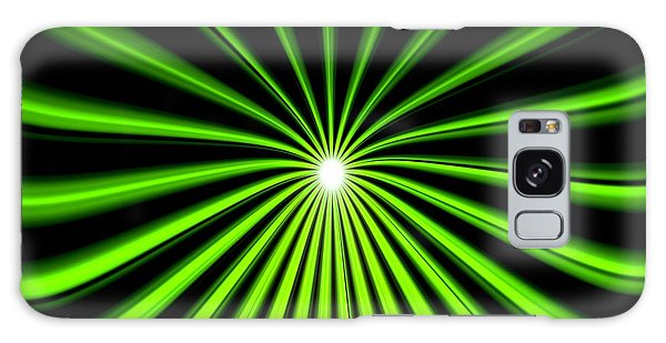 Hyperspace Electric Green Square Galaxy Case