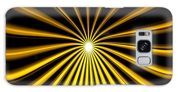 Hyperspace Gold Landscape Galaxy Case