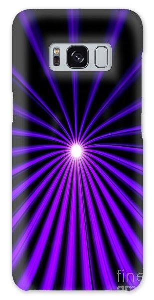 Hyperspace Violet Portrait Galaxy Case