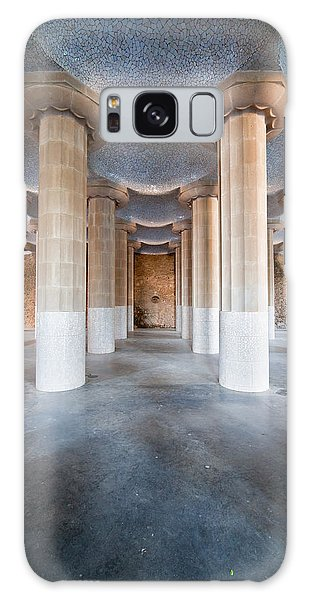 Hypostyle Room In Park Guell Galaxy Case