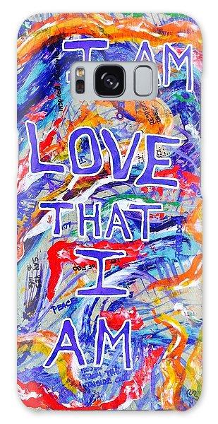I Am Love Galaxy Case