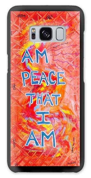 I Am Peace Galaxy Case
