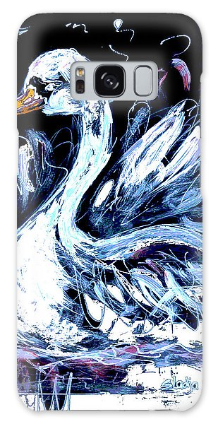I Am Swan Galaxy Case