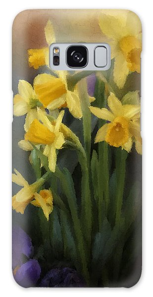 I Believe - Flower Art Galaxy Case
