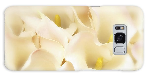 I Dreamed Of Calla Lilies Galaxy Case