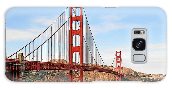I Guard The California Shore - Golden Gate Bridge San Francisco Ca Galaxy Case