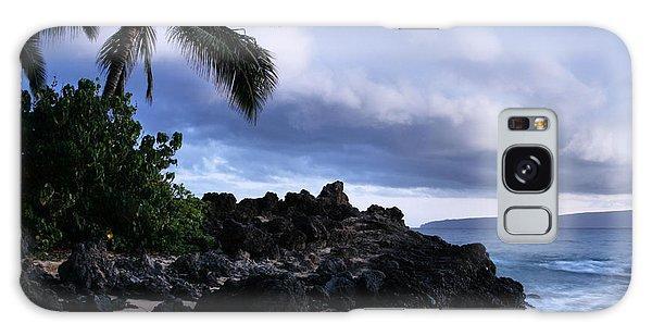 I Ke Kai Hawanawana Eia Kuu Lei Aloha - Paako Beach Maui Hawaii Galaxy Case