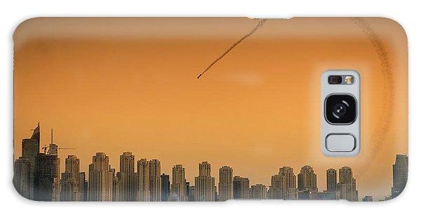 Plane Galaxy Case - I Love Flying Planes by Attila Szabo