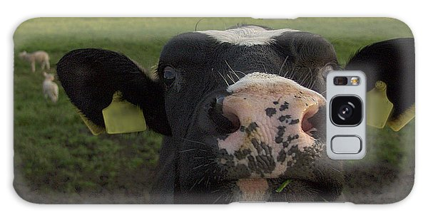 I Love Grass --said The Cow. Galaxy Case