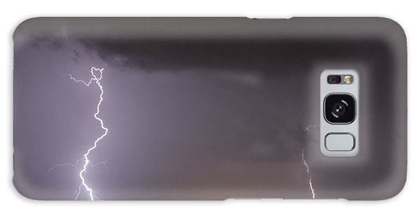 I Love Lightning Galaxy Case by John Crothers