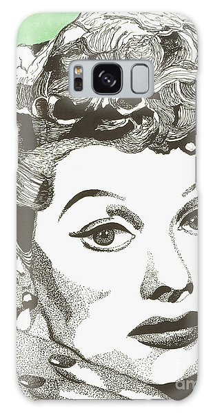 I Love Lucy Galaxy Case