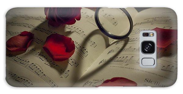 I Love Music Galaxy Case by Amber Kresge