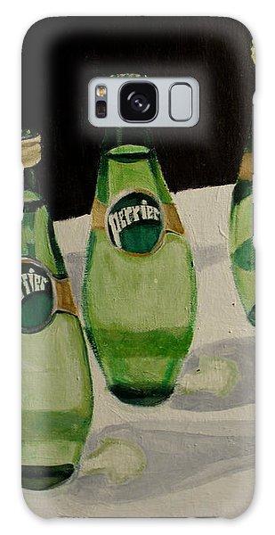 I Love Perrier - Conceptual Still Life Painting - Ai P. Nilson Galaxy Case